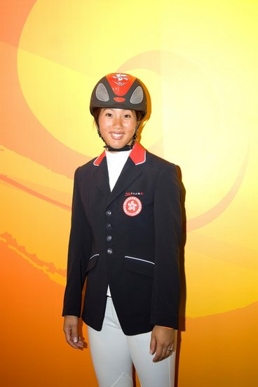 2011马术世界杯中国选手--林子心