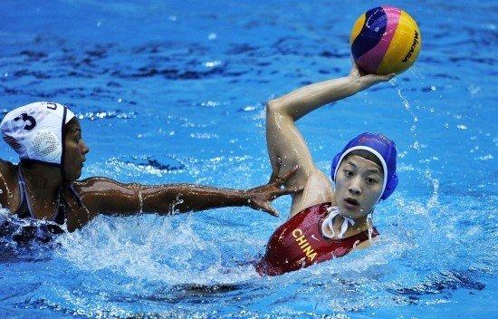 中国女水队长:伦敦奥运竞争激烈 队员无压力