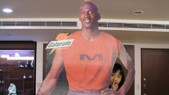 那些年我们追过的MJ 台湾女孩迷恋乔丹1个月