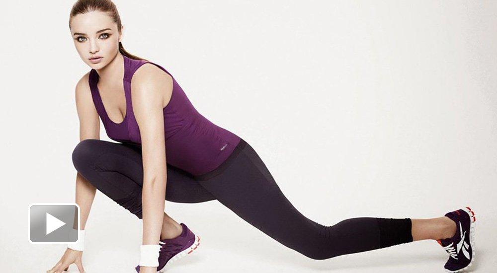 米兰达可儿引领瑜伽新时尚图片