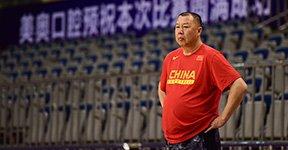 国奥男篮备战八国争霸赛
