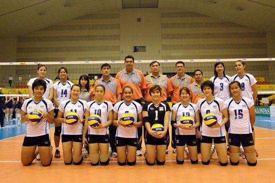 泰国女排名单:维拉万队长 福建队两外援上榜