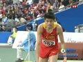 视频:田径赛场 李延熙三级跳远第一跳