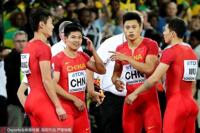 英国选手向苏炳添道歉 中国不申诉因理由不充分