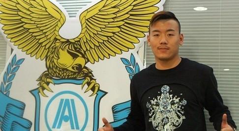阿尔滨官方宣布签约张佳祺 曾效力德罗巴母队