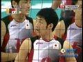 视频:男排1/4决赛 局点处中国队进攻失误