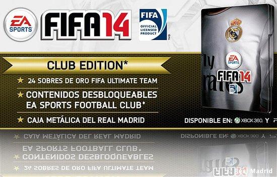 皇家马德里将会和EA SPORTS联手发售FIFA 14