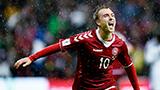 【集锦】丹麦1-0亚美尼亚 埃里克森半场建功定胜局