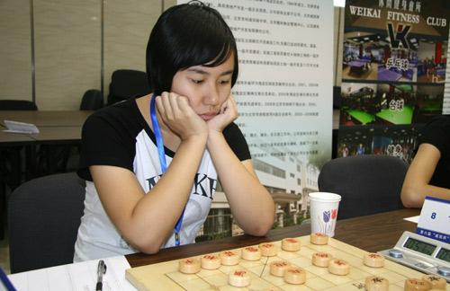 全国象棋团体锦标赛 四川女队拼回团体前六名