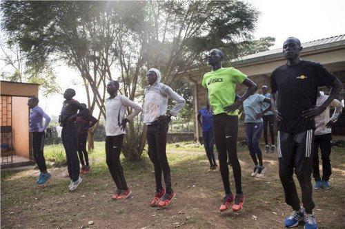 跑出非洲:里约奥运的难民代表团图片