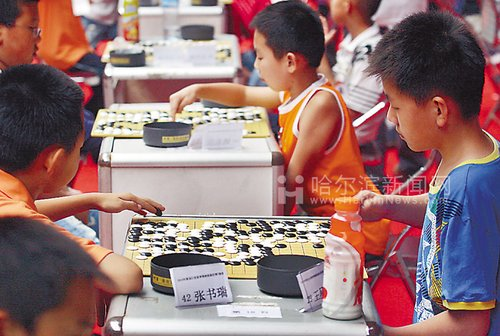 黑龙江省围棋段位赛开战 报名人数超千人(图)