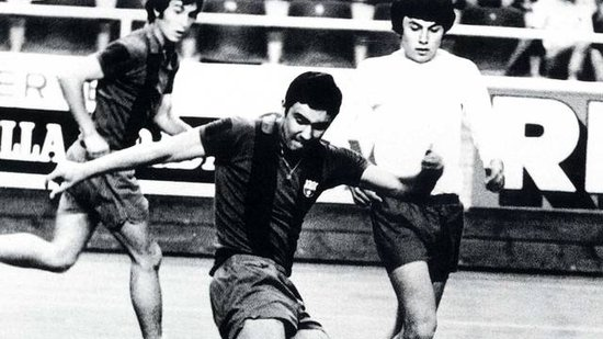 巴萨五人制足球队荣誉一身 曾获多次比赛冠军