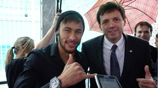 Neymar attend charity called Barcelona effect until at least 2022