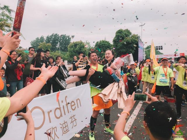 宁波银行•2018南京仙林半程马拉松欢乐起跑  万人参与共享活力半马盛宴