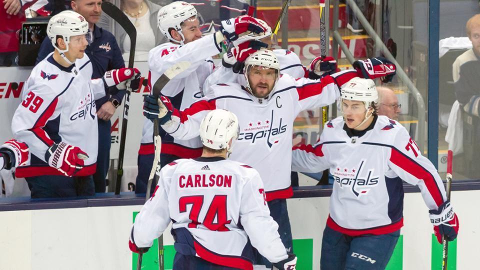 NHL-奥八爷梅开二度 首都人6-3蓝衣晋级下一轮