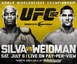 UFC162点燃国际格斗周 席尔瓦王位遭最强挑战
