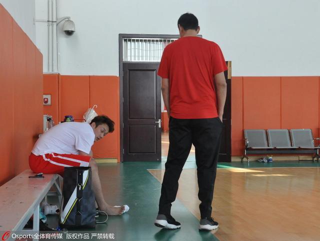 山东备战全运小丁参加合练 将赴安徽集训一周