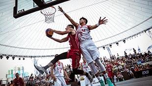 高清:3X3U18世界杯第4日 中国小将拼劲十足
