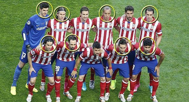 马德里竞技将被挖空 欧冠决赛首发9人恐离队