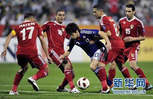 亚洲杯 日本战平约旦