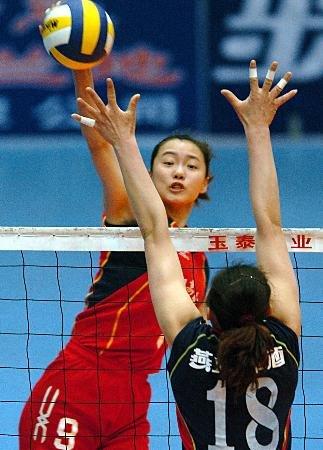 中国女排运动员陈瑶