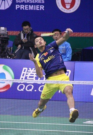 总决赛林丹2-0日本名将 三战全胜小组第1出线