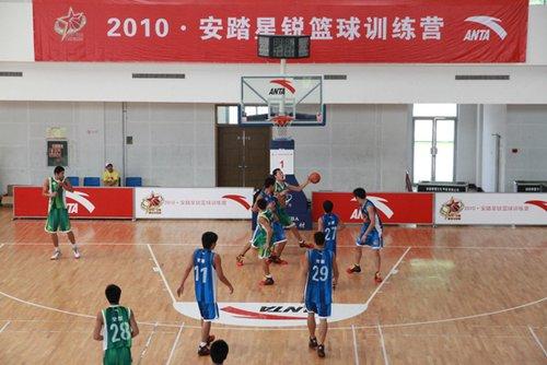 2010安踏星锐篮球训练营济源激情开幕