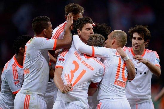 拜仁1胜破3纪录赛季百球离奇 戈麦斯迫近传奇