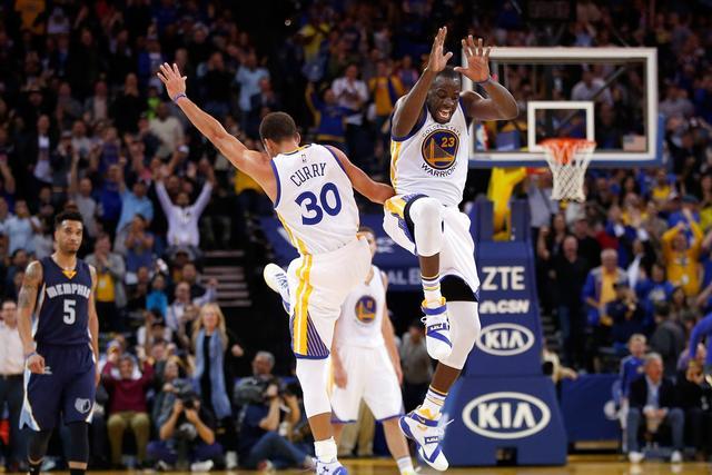 快评:勇士4场净胜100分 他们无愧NBA梦之队