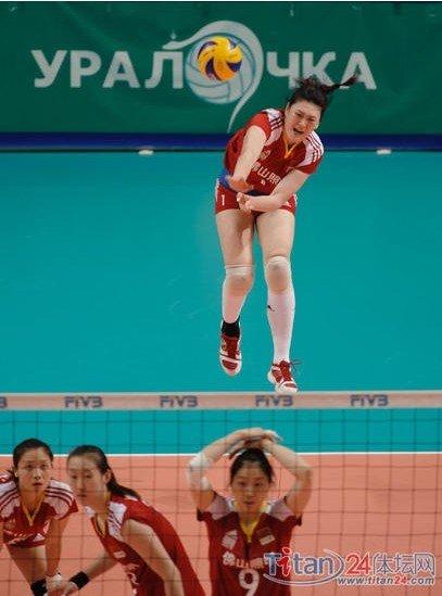 快乐排球中国队三连胜 王一梅惠若琪改变最大