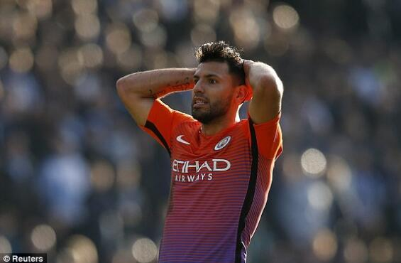 足总杯-曼城0-0平英冠队将重赛 阿圭罗失良机
