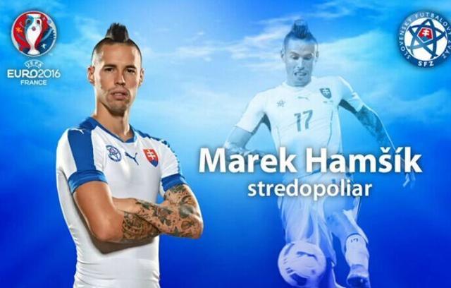 斯洛伐克公布欧洲杯23人名单:意甲名将领衔