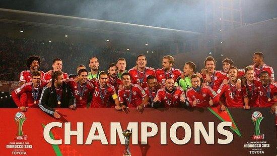 巴萨祝贺拜仁夺得世俱杯