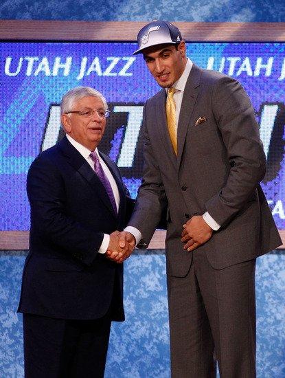 2011年NBA探花秀:爵士队选中恩纳斯-坎特