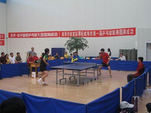 首届体彩助全民健身威海文献乒乓球联赛收拍公益健美操竞技音乐综述