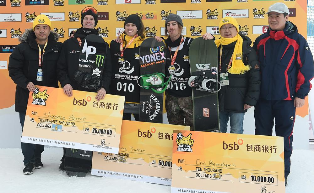 香蕉公开赛世界第一意外居亚 中国冰雪未来可期