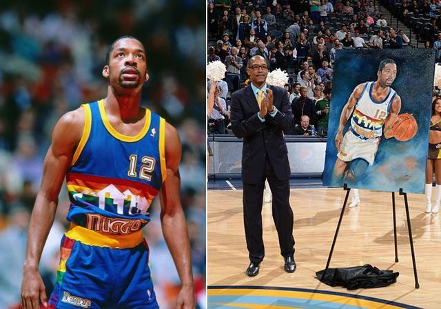 掘金将退役胖子利夫球衣 1米9身高却是篮板怪