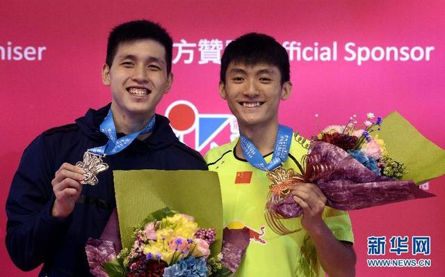 澳门格兰披治羽毛球大奖赛 小将薛松男单夺冠