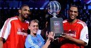 亚特兰大队力压得州联队 赢本届投篮之星冠军