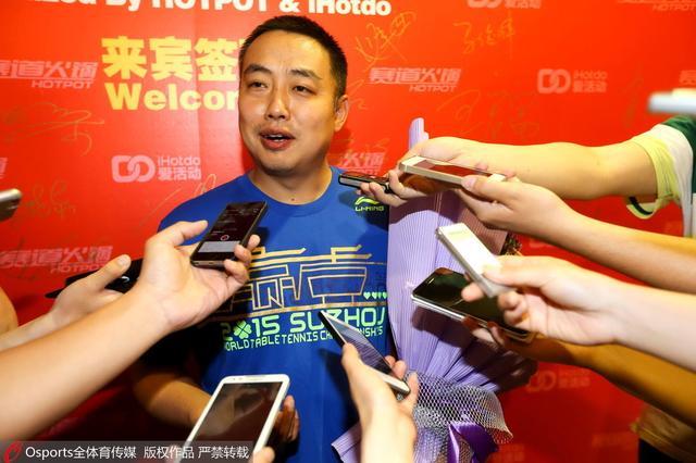 刘国梁:乒乓球处于尴尬期 望许昕不轻易妥协