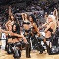 高清:圣安东尼奥马刺啦啦队 展NBA多面精彩