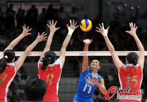 中国女排0-3遭意大利零封 总决赛首场受重创