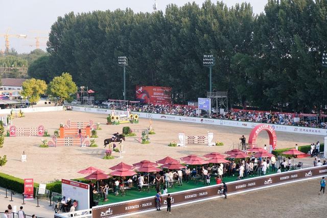 北京国际马术文化节开幕 赛展结