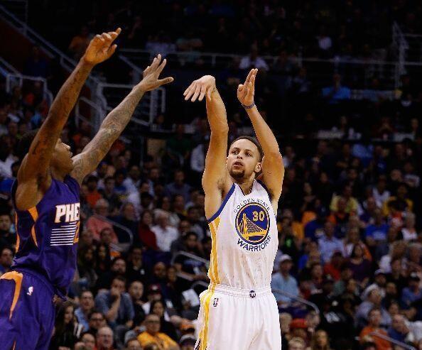 库里再创一项NBA壮举 单季三分榜前7他占四席