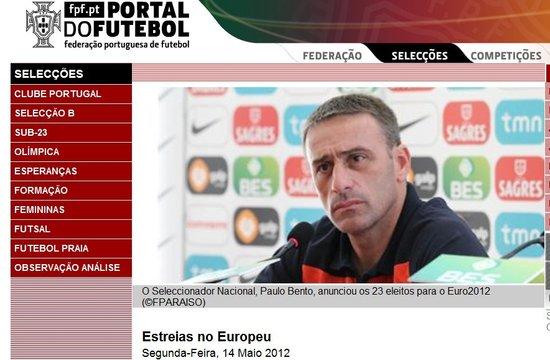 葡萄牙公布欧洲杯23人大名单 C罗领衔皇马3将