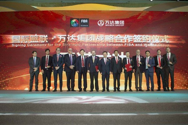 万达成为国际篮联全球独家商业合作伙伴