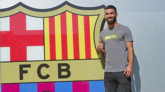 Turan arrive in Barcelona on Friday formally signed unveiled