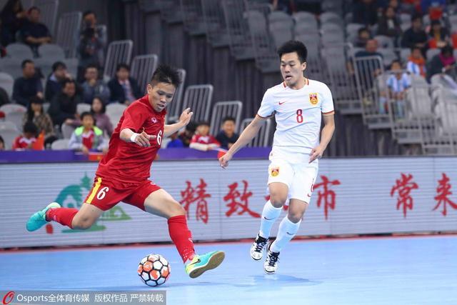 5人制邀请赛-中国2-2越南 两度落后两度追平