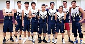 香港篮坛陈妍希与友人组队打球