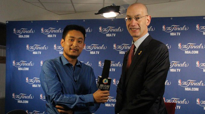 独家专访NBA继任总裁:与腾讯合作是成功案例
